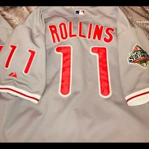 Other - Men's MLB Philadelphia Phillies Rollins Jersey
